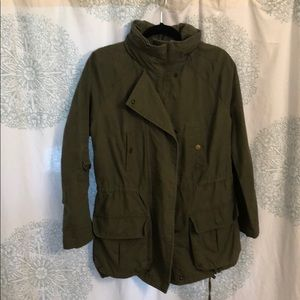 Womens green jacket